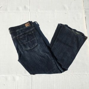 AEO Artistic Stretch Size 14 Short Jeans